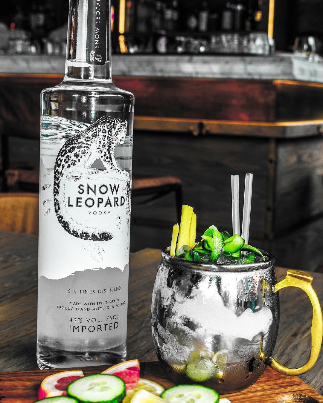 Snow Leopard Cocktail